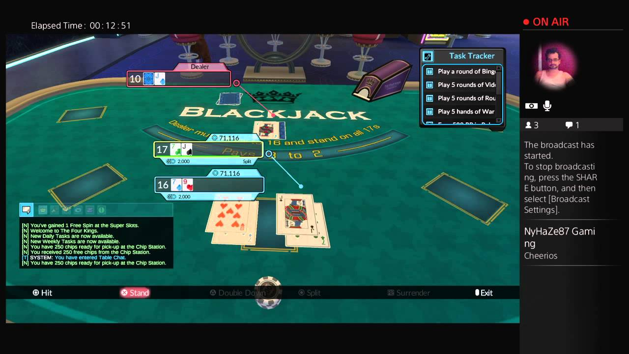 kings casino live stream