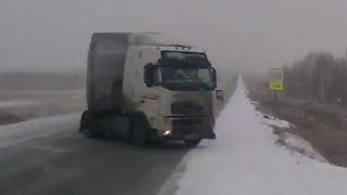 Truck Crash Compilation Winter 2014