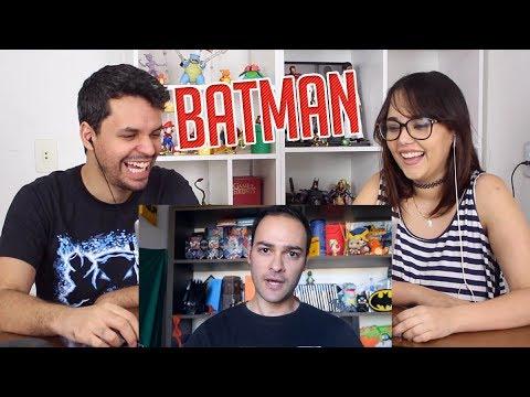 REACT Pegadinha do Filme Liga da Justiça Batman Manequim [Prank] (Montalvaao)