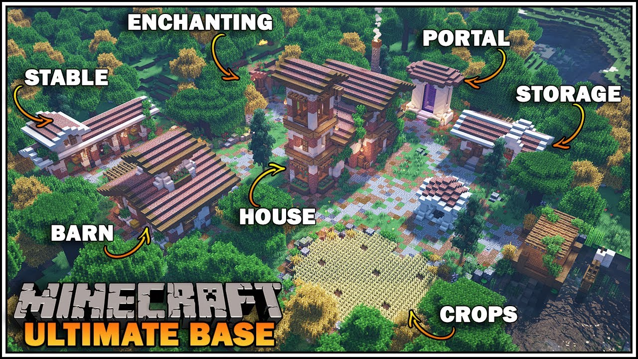 5 Best Survival Homes To Build In Minecraft