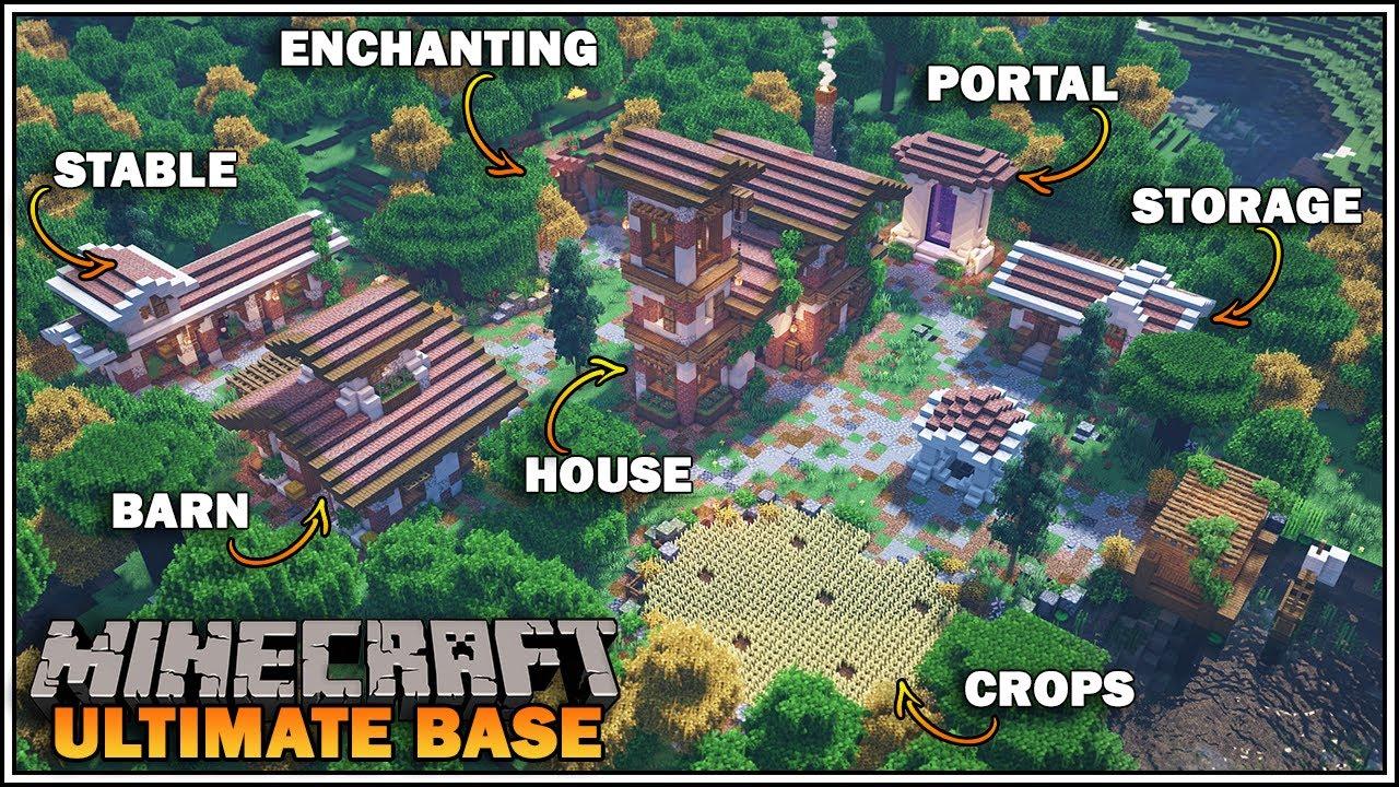 Minecraft MCPE BEST MINI GAME WORLD - YouTube