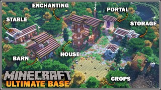 Minecraft 1.16 - Ultimate Survival Base with Everything you NEED to Survive in Minecraft!!!