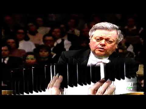 Philippe Entremont, piano & director: Beethoven Concierto nº 1, Orquesta de RTVE.