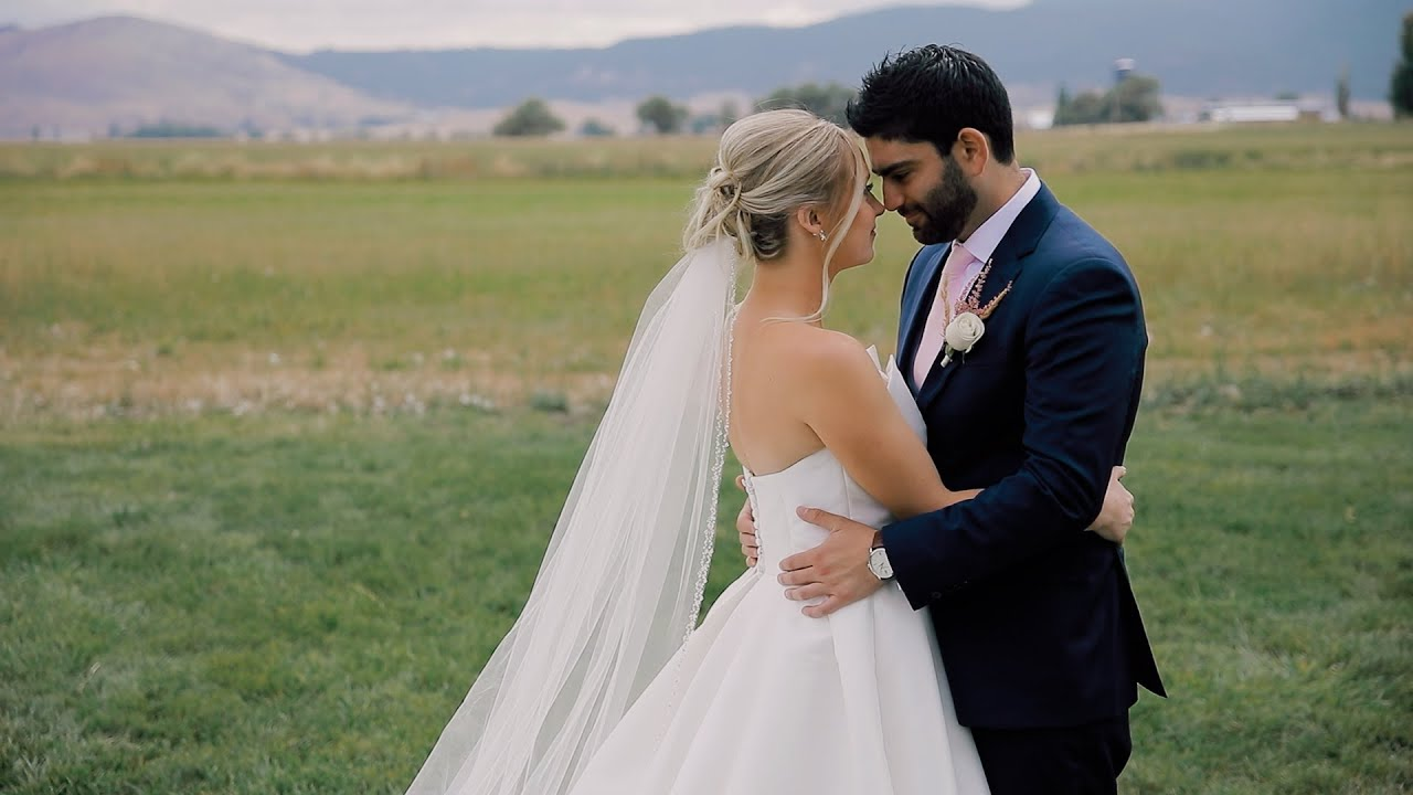 Mackenzie and Saam Persian/American Fusion Wedding in Baker City, Oregon