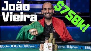 João Vieira wins the $5,000 6 Max Event for $758,011!!