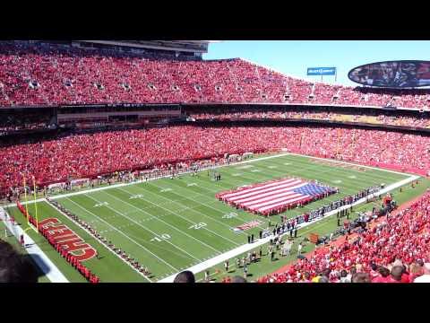 Kansas City Chiefs Home Opener 2012