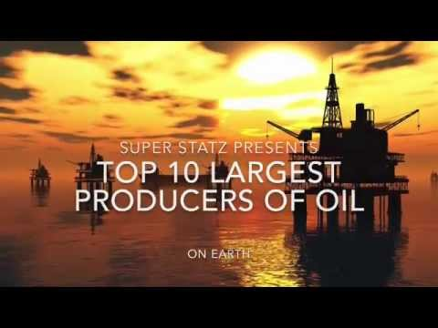 Top 10 largest oil producing countries