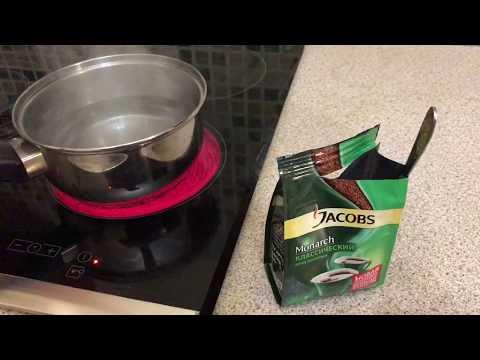 Как варить кофе дома на плите без турки How to brew coffee at home on a plate without coffee pot