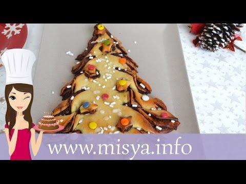 Ricette Dolci Di Natale Misya.Albero Di Natale Di Pan Brioche La Ricetta Di Misya