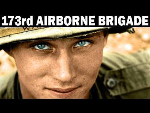 Sky Soldiers in Vietnam  The 173rd Airborne Brigade  US Army Documentary  1968