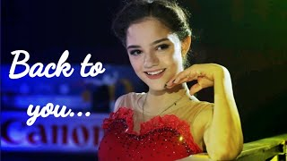 BACK TO YOU EVGENIA MEDVEDEVA ЕВГЕНИЯ МЕДВЕДЕВА