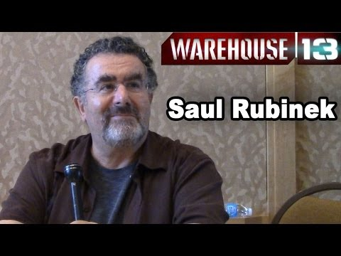 Warehouse 13 - Saul Rubinek Interview
