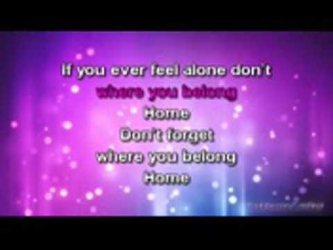 One Direction   Don t Forget Where You Belong Karaoke version   Lyrics x264