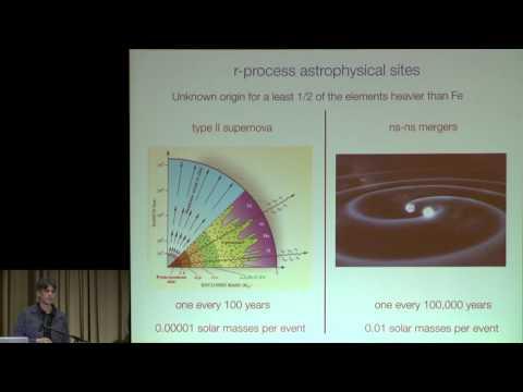 Sackler Conference 2016 -- Enrico Ramirez-Ruiz: r-Process Nucleosynthesis