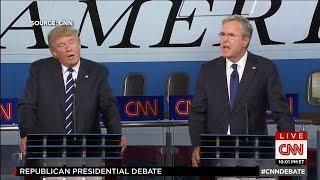 Jeb Bush Says His Brother 'Kept Us Safe'