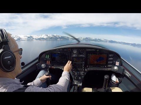 Petit Prince Flights - Lake Tahoe - Winter Aerial Tour