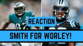 Philadelphia Eagles Trade Tory Smith to the Carolina Panthers Reaction | NFL News March 9 2018
