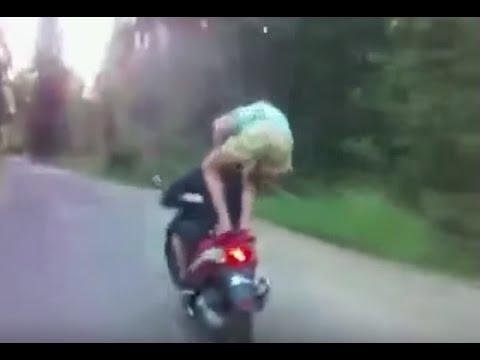 Мото приколы. ТОП!!! подборка приколов на мотоциклах