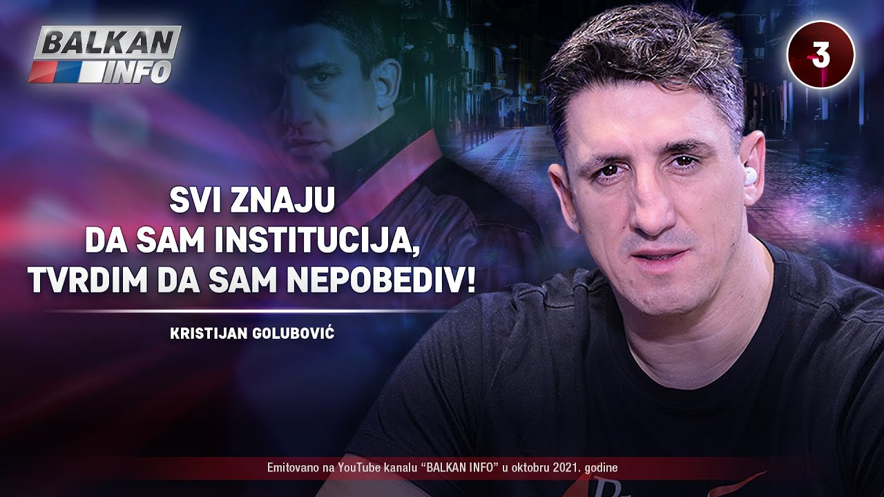 Download INTERVJU: Kristijan Golubović - Svi znaju da sam institucija, tvrdim da sam nepobediv! (16.10.2021)