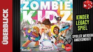 Zombie Kidz Evolution - Kinder-Legacy-Spiel ab 7 Jahren (Annick Lobet, Asmodee 2019)