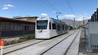 UTA HD 60fps; Siemens S70 LRVs on The S Line [Sugar House Streetcar] (5/9/19)