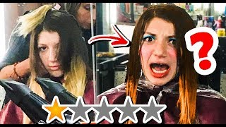 Going to the WORST REVIEWED HAIR SALON in my city, Ecuador! 🤢🤮
