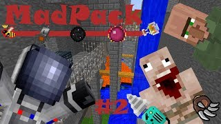 Minecraft MadPack: Water-Dungeons & Force Infusers! (Part 2) (Dutch Commentary)