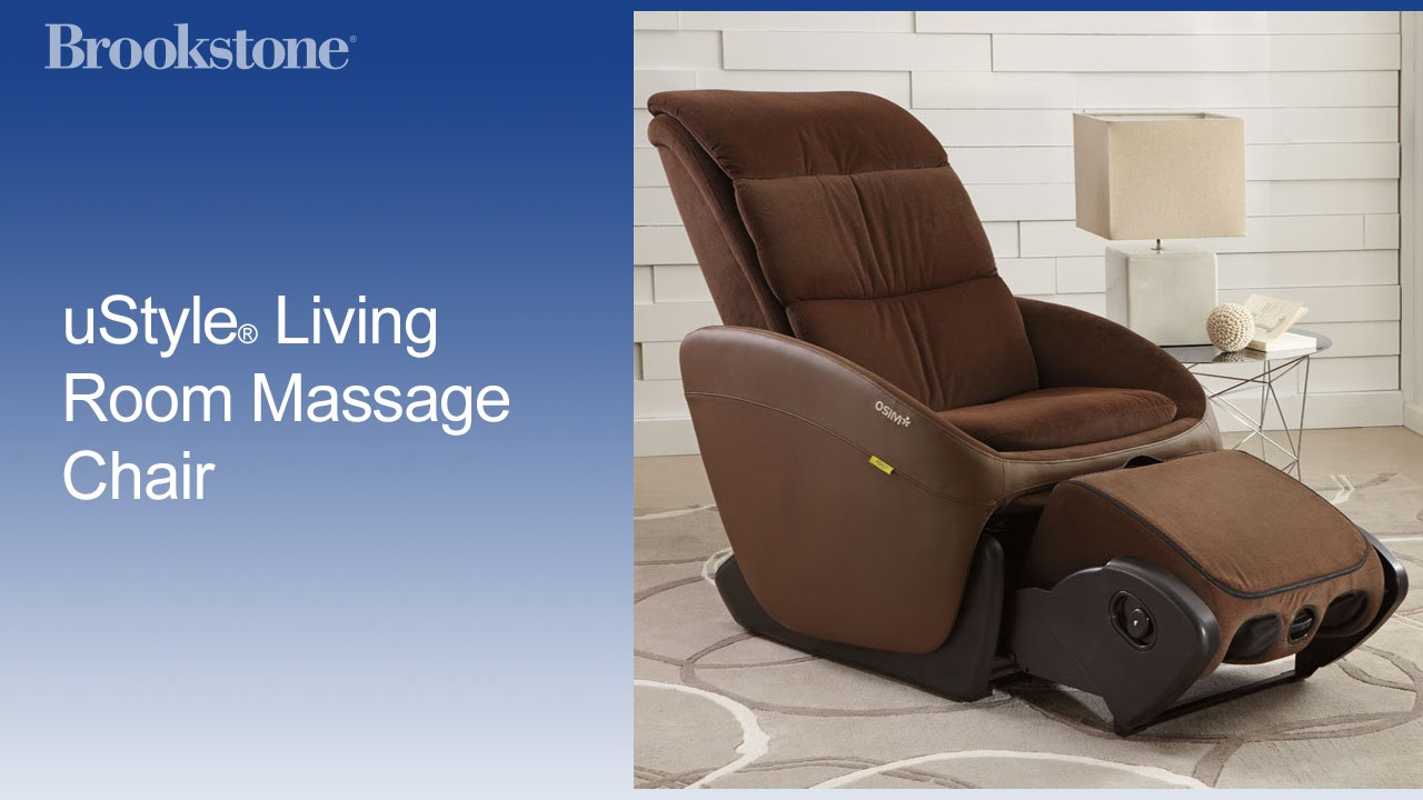 ustyle living room massage chair brookstone inc