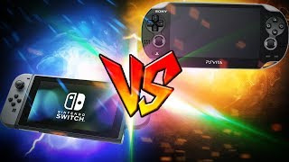 Nintendo Switch VS PS VITA