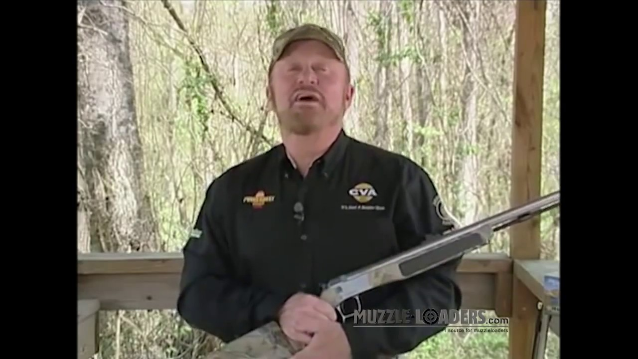 Cleaning a CVA™ Muzzleloader - Wolf, Optima & Accura