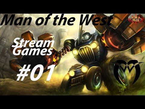LoL Stream Games S5 #001 - Worlds Best Blitzcrank
