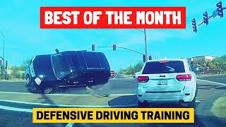 BEST OF THE MONTH (OCTOBER) | Bad Drivers & Driving Fails in USA & Canada (w/ Commentary)