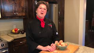Peeling Hardboiled Eggs - Kitchen Tip