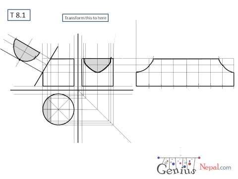 Engineering Drawing Tutorials/Orthographic and sectiona