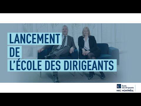 Lancement de l'École des dirigeants HEC Montréal