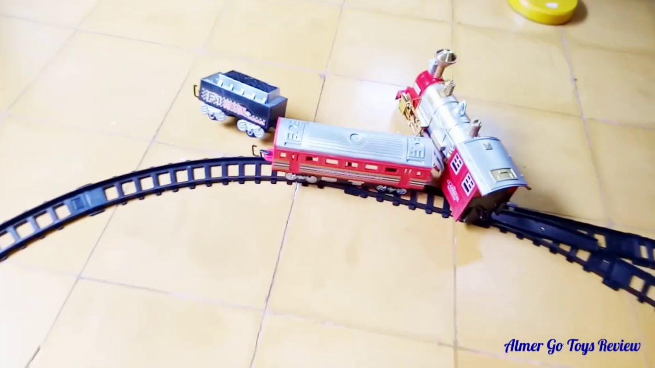 Gambar Kereta Api Thomas Hitam Putih Mainan Kereta Api Bisa Keluar Asap Keren Banget Youtube