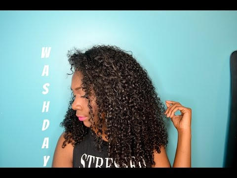 Wash Day Routine Curly Hair 3C/4A| Nia Imani