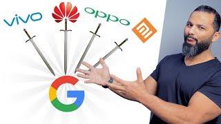 مفاجأة التحالف الصيني ضد جوجل !