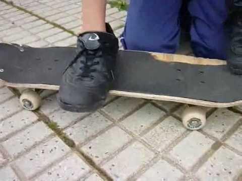 Como hacer un heelflip por pablo fonseca píriz
