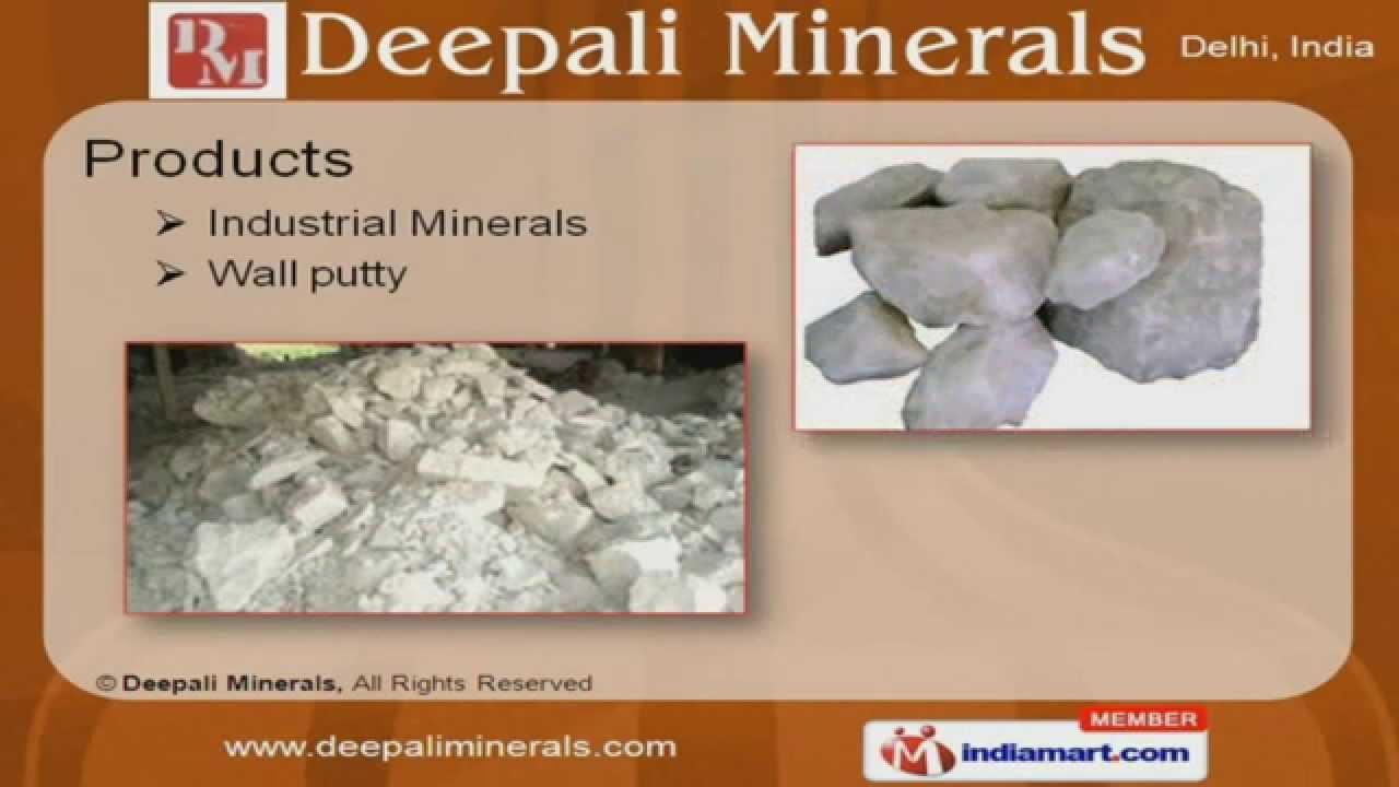 Wall putty by Deepali Minerals, New Delhi