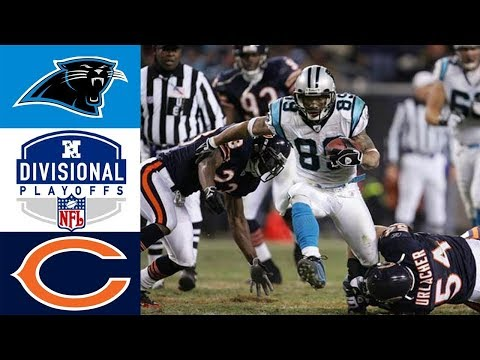 Panthers Vs Bears 2005 NFC Divisional (Full Game)