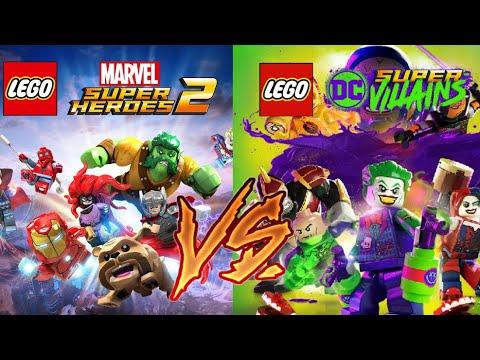 LEGO Marvel Super Heroes 2 Vs LEGO DC Super Villians!! Which Game Is Better?!