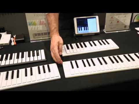 Virgin Musical Instruments X Key 37 at winter Gear Preview 2016
