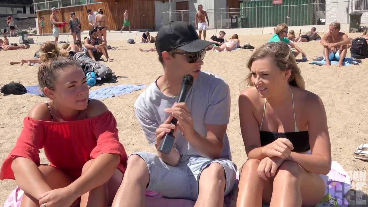 Best Of Asking Beach Girls Awkward Questions Feat Adrian Gee Youtube