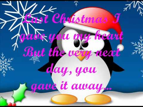 Last Christmas---Taylor Swift (lyrics) (letra)