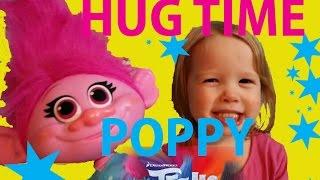 TROLLS Movie BABY HUG TIME POPPY Review New Trolls Movie Daddy Surprises Rocklynn