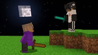I fought Sapnap in Minecraft