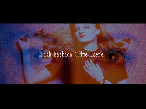 High Fashion Crime Scene - Melanie Pullen Inspired Experimental Film