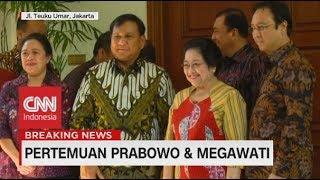 Tiba di Kediaman Megawati, Prabowo Disambut Puan Maharani