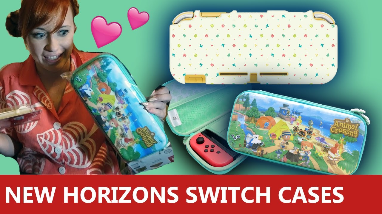New Animal Crossing New Horizons Nintendo Switch Accessories From